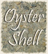 Crushed Oyster Shell for Natural Birds or Aquariums