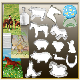 Farm and Horse Bake-it & Take-it Set Cookie Cutters